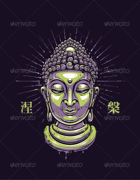GraphicRiver Vector Buddha Print 6461599