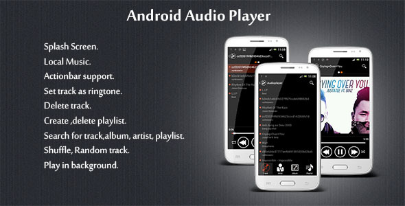 CodeCanyon Android Audio Player 6422895