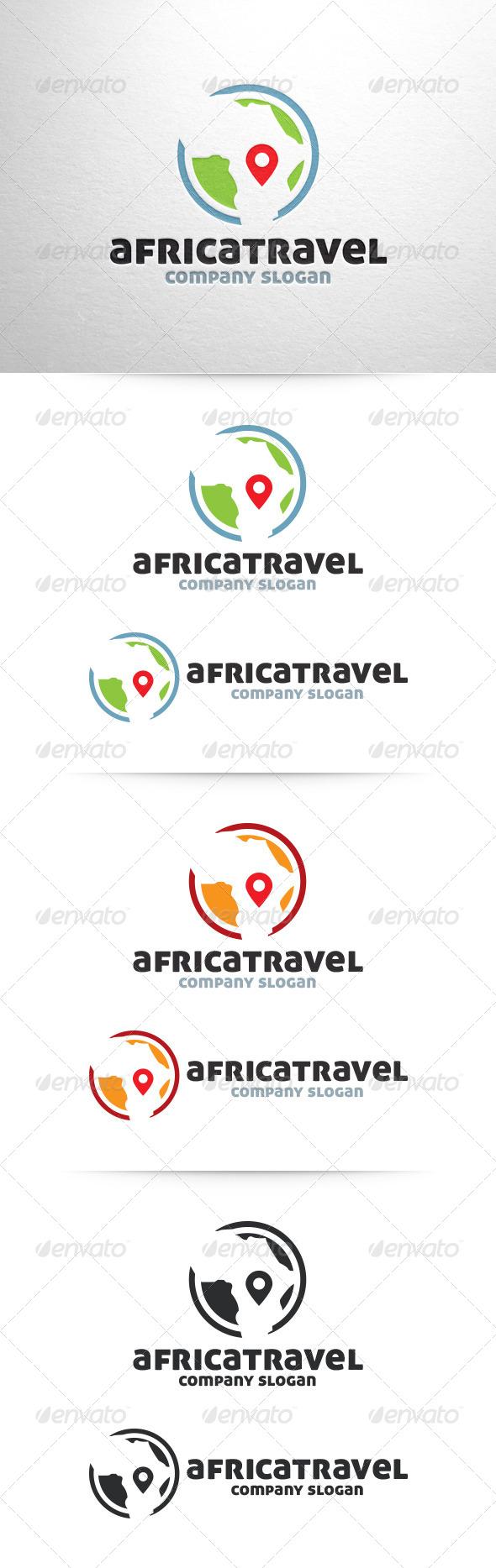 GraphicRiver Africa Travel Logo 6461963