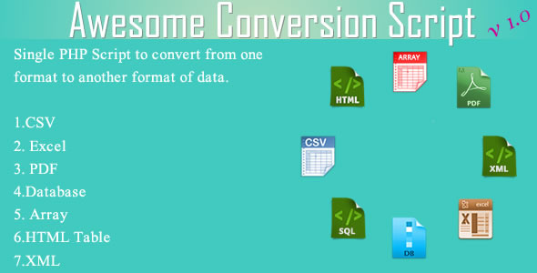 CodeCanyon Awesome Conversion Script 6462891