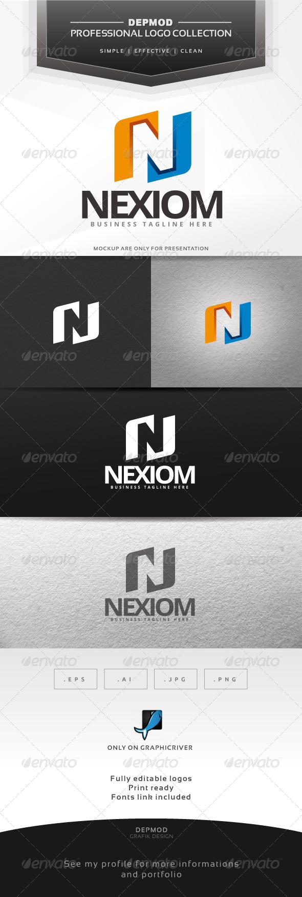 GraphicRiver Nexiom Logo 6462892