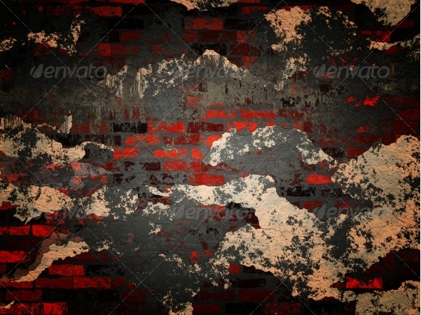 GraphicRiver Grunge brick wall 6462922