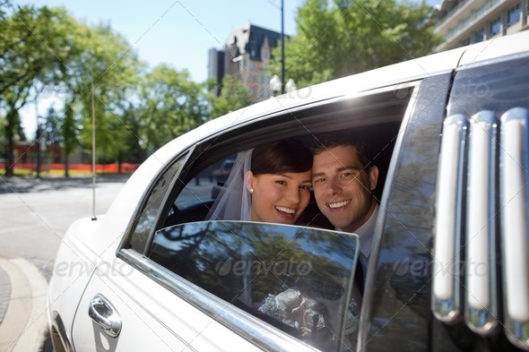 Happy married couple - Stock Photo - Images