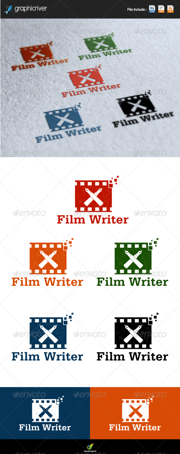 GraphicRiver Film Writer 6463584