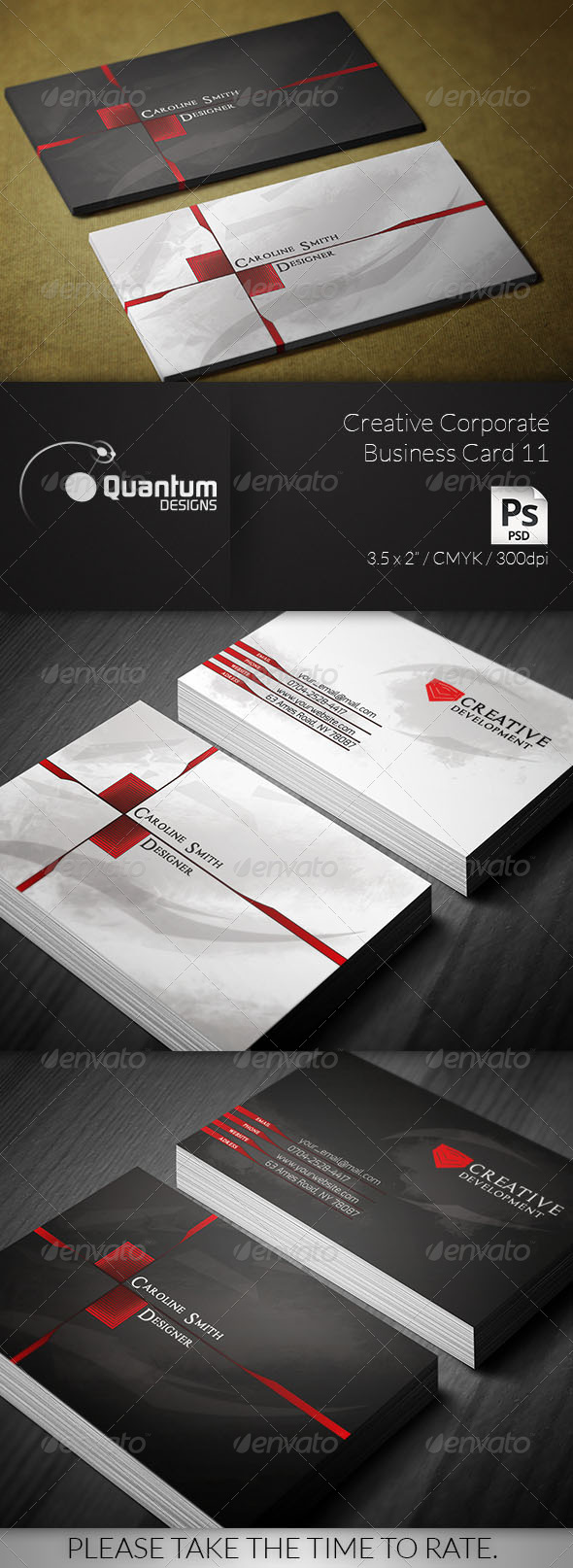 GraphicRiver Creative Corporate Business Card 11 6432140