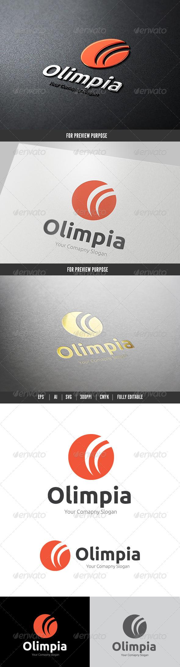 GraphicRiver Olympia Logo 6464043