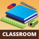 Classroom Vector Background - GraphicRiver Item for Sale