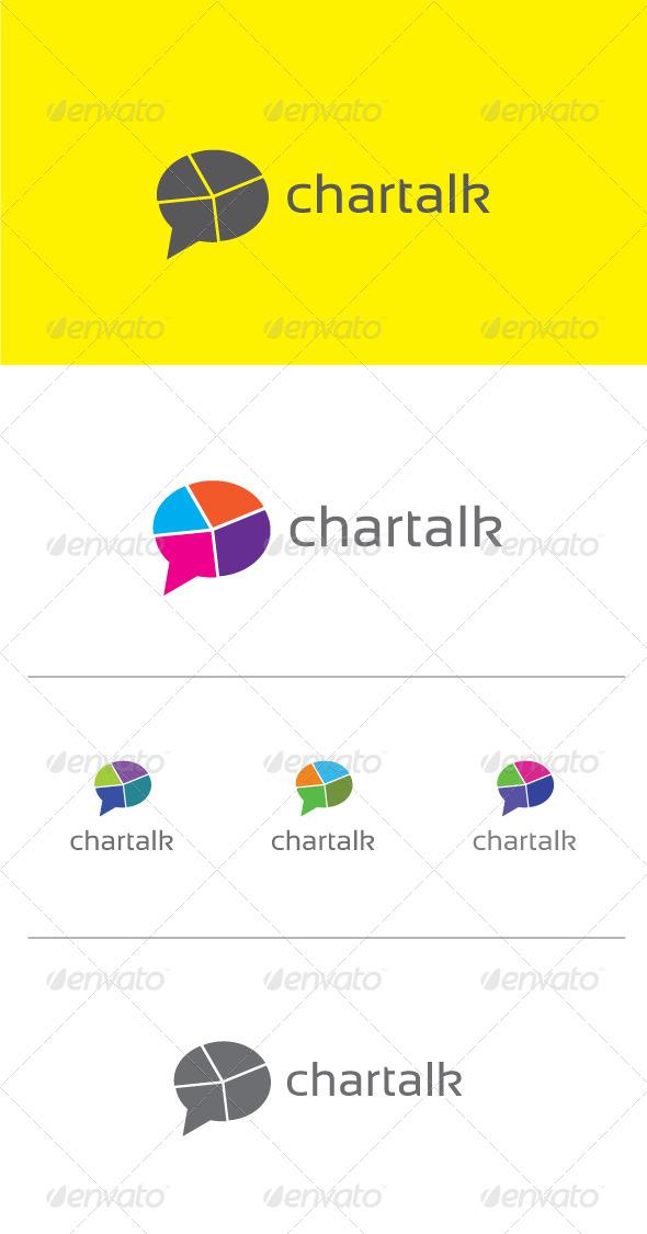 GraphicRiver Chartalk Logo Template 6464917