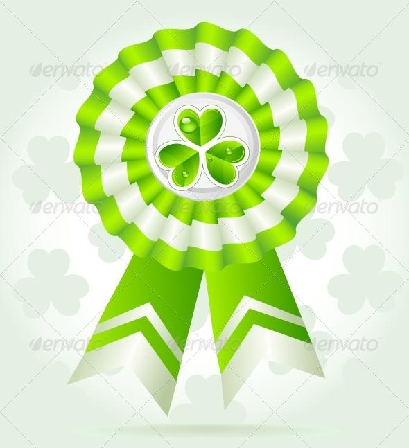 Clover Award on St Patrick`s Day