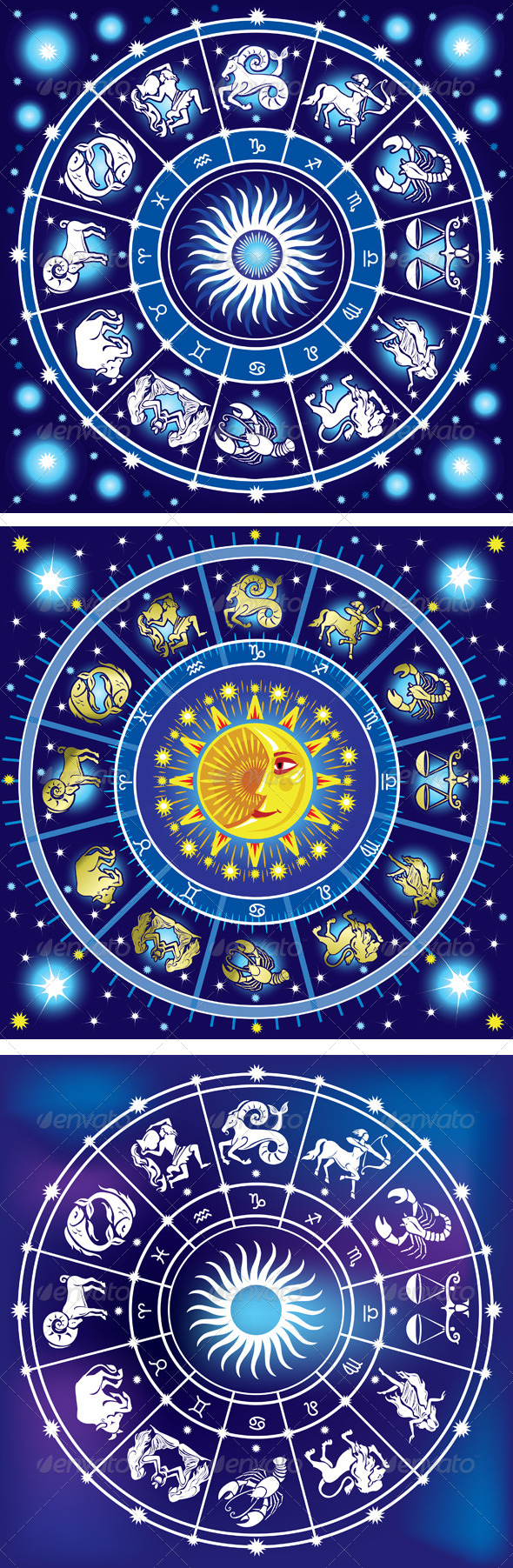 GraphicRiver Horoscope Circle 6465704