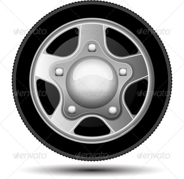 GraphicRiver Car Wheel 6465707