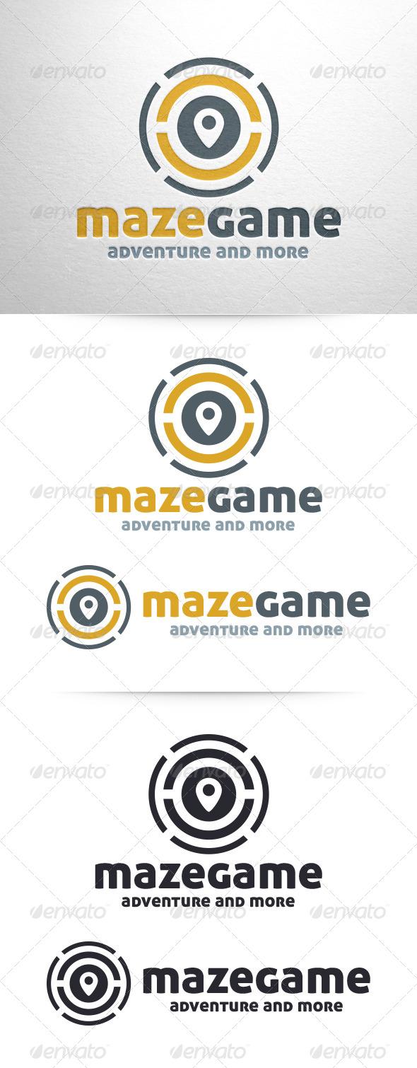 GraphicRiver Maze Game Logo Template 6466259