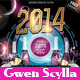 Happy New Year 2014 DJs Event Flyer Templates - GraphicRiver Item for Sale