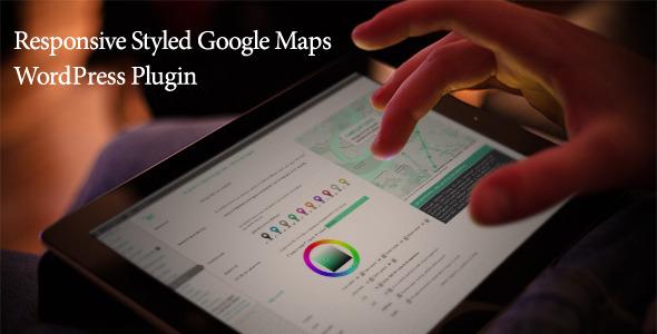 Responsive Styled Google Maps - WordPress Plugin