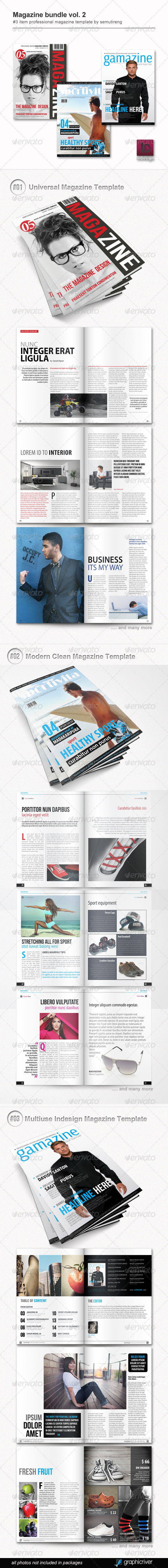 GraphicRiver Magazine Bundle Vol 2 6467756