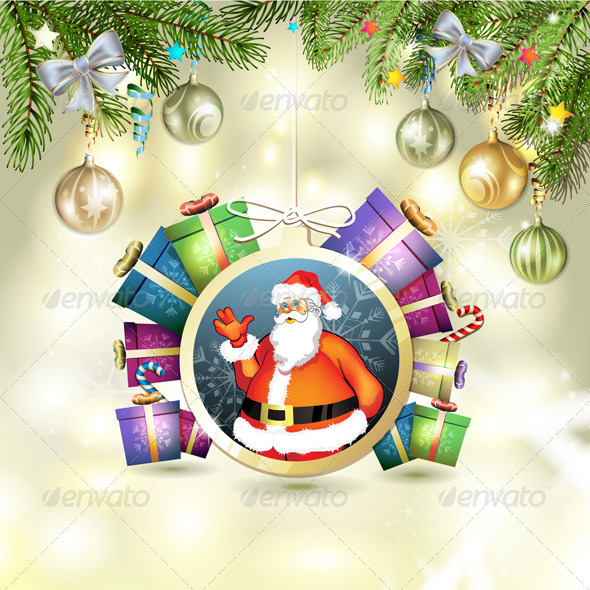GraphicRiver Christmas Card 6468084
