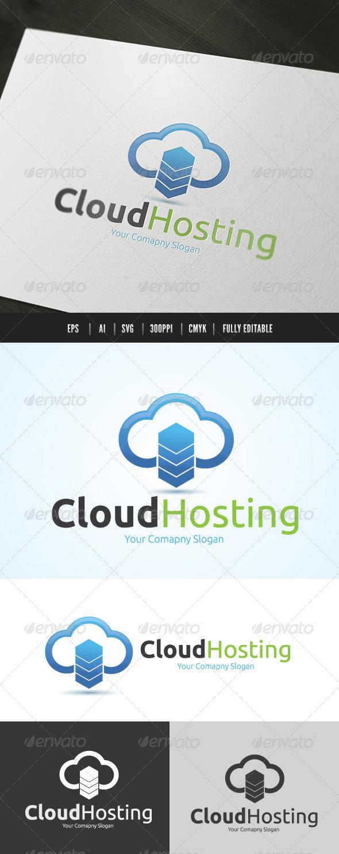 GraphicRiver Cloud Server Logo 6468320