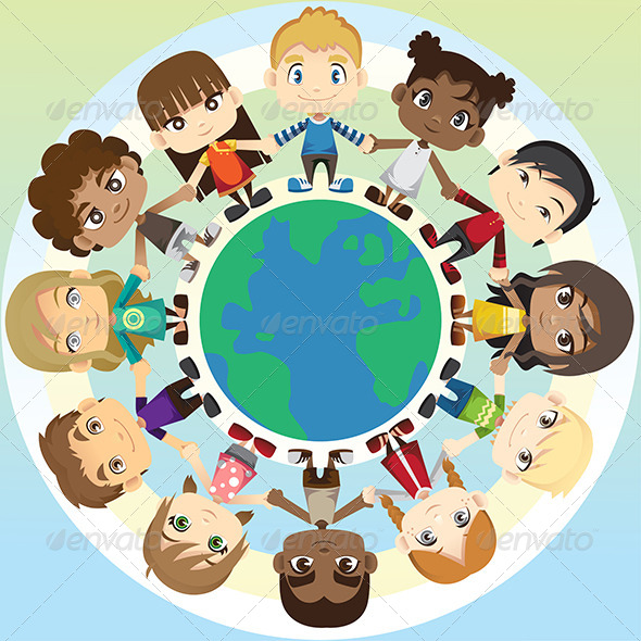 GraphicRiver Children in Unity 6468326