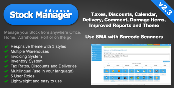 Stock Manager Advance (Invoice & Inventory System) - CodeCanyon Item for Sale