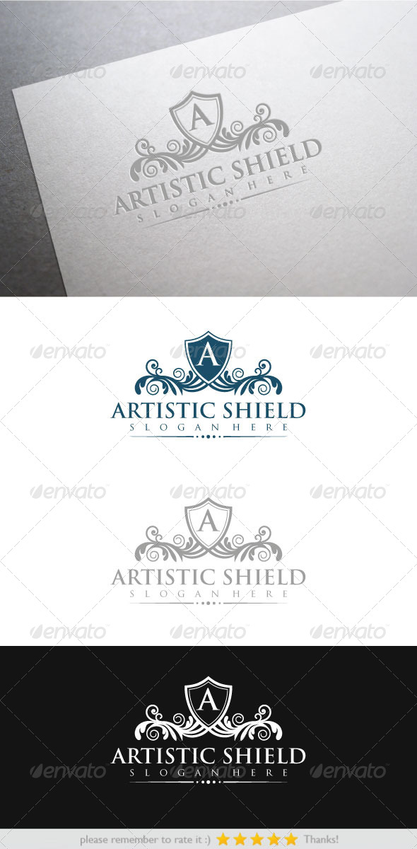 GraphicRiver Artistic Shield 6469396