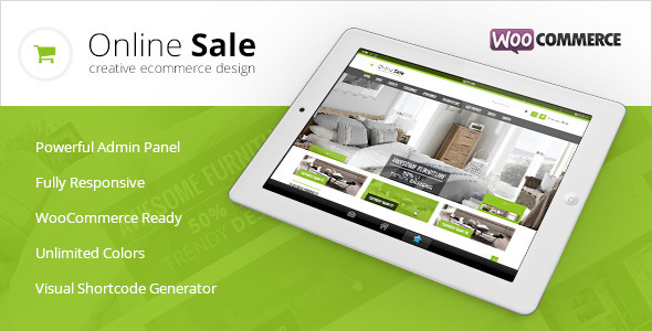 ThemeForest Online Sale Responsive WooCommerce Theme 6309284