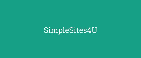 SimpleSites4U
