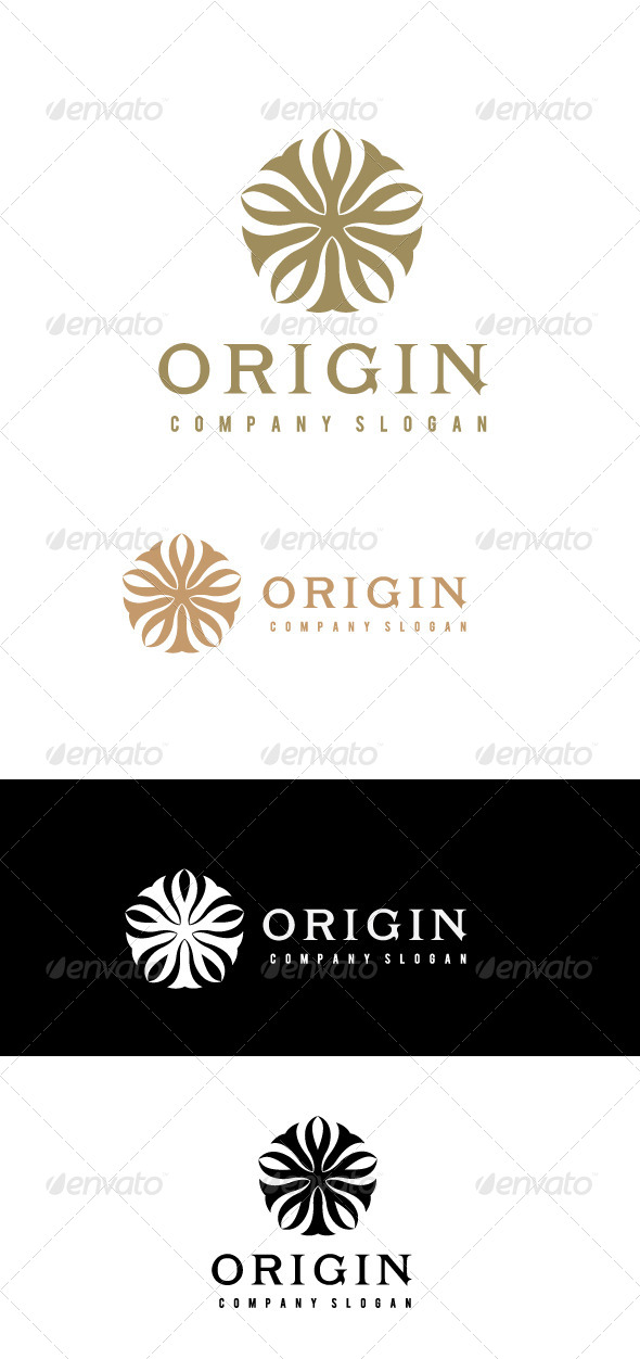 GraphicRiver Origin Logo Template 6469915