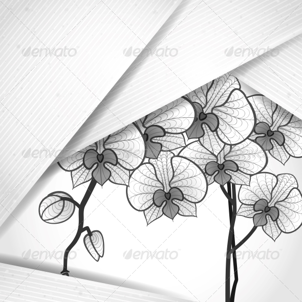 GraphicRiver Abstract Background with White Paper Layers 6470161