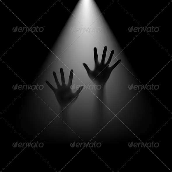 GraphicRiver Hands in Back Light 6470222
