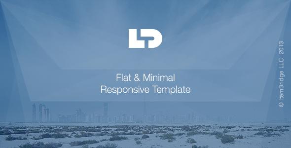 ThemeForest LightDose Flat&Minimal Responsive HTML Template 6470272