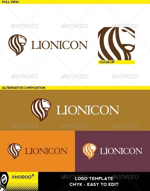 GraphicRiver Lionicon Logo 6470343