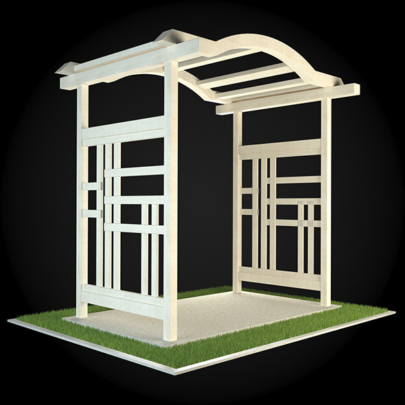 Pergola 007 - 3DOcean Item for Sale