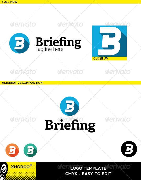 GraphicRiver Briefing Logo 6470586