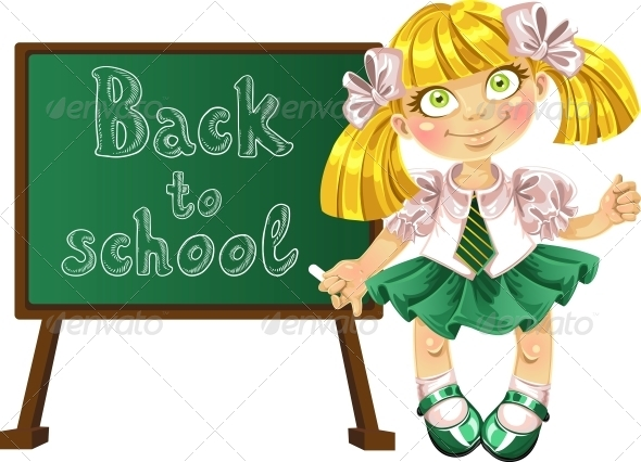 GraphicRiver Welcome to School 6470774