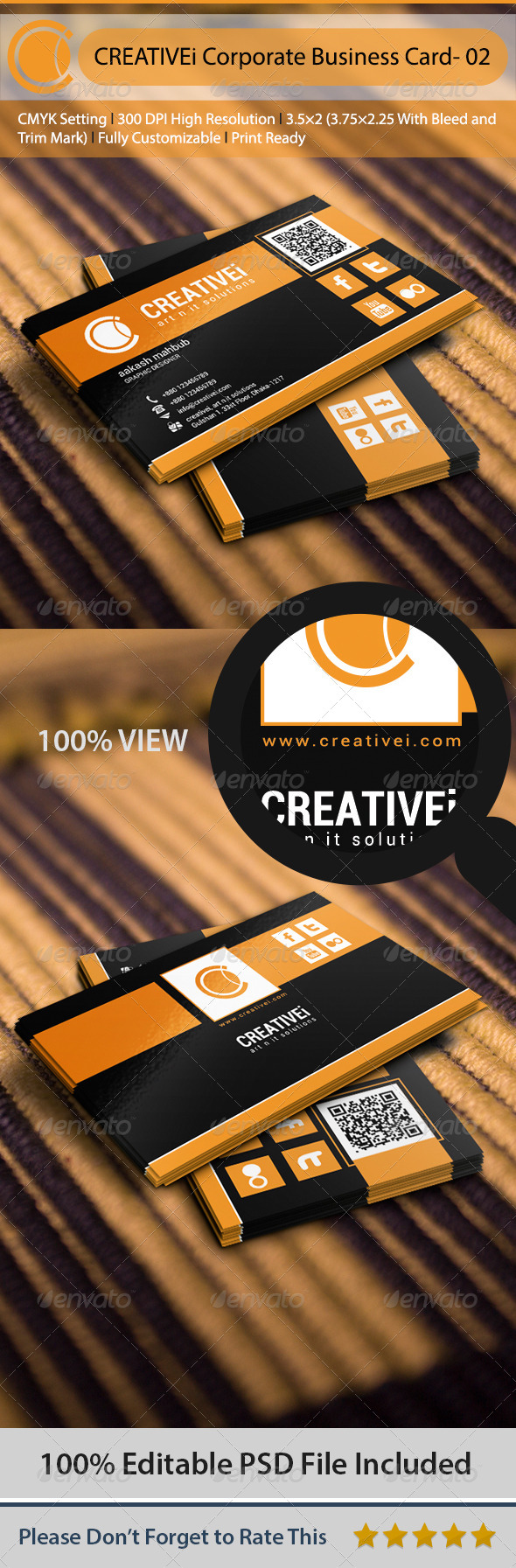 GraphicRiver Corporate Business Card 02 6470959