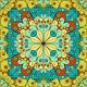Five Arabesque Backgrounds
