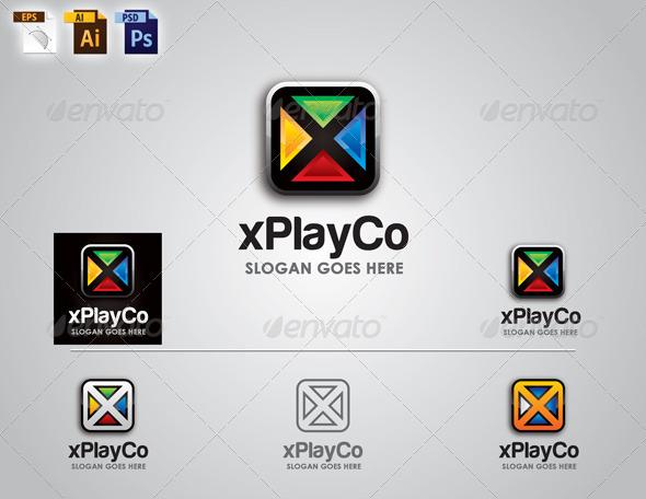 GraphicRiver Corporate Logo Design xPlayCo Logo 6466620