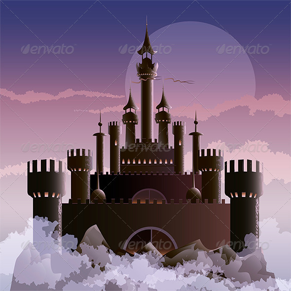 GraphicRiver The Dark Castle 6471310