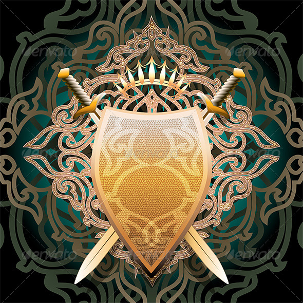 GraphicRiver The Amber Shield 6471356