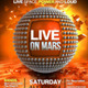 Live on Mars Flyer - GraphicRiver Item for Sale
