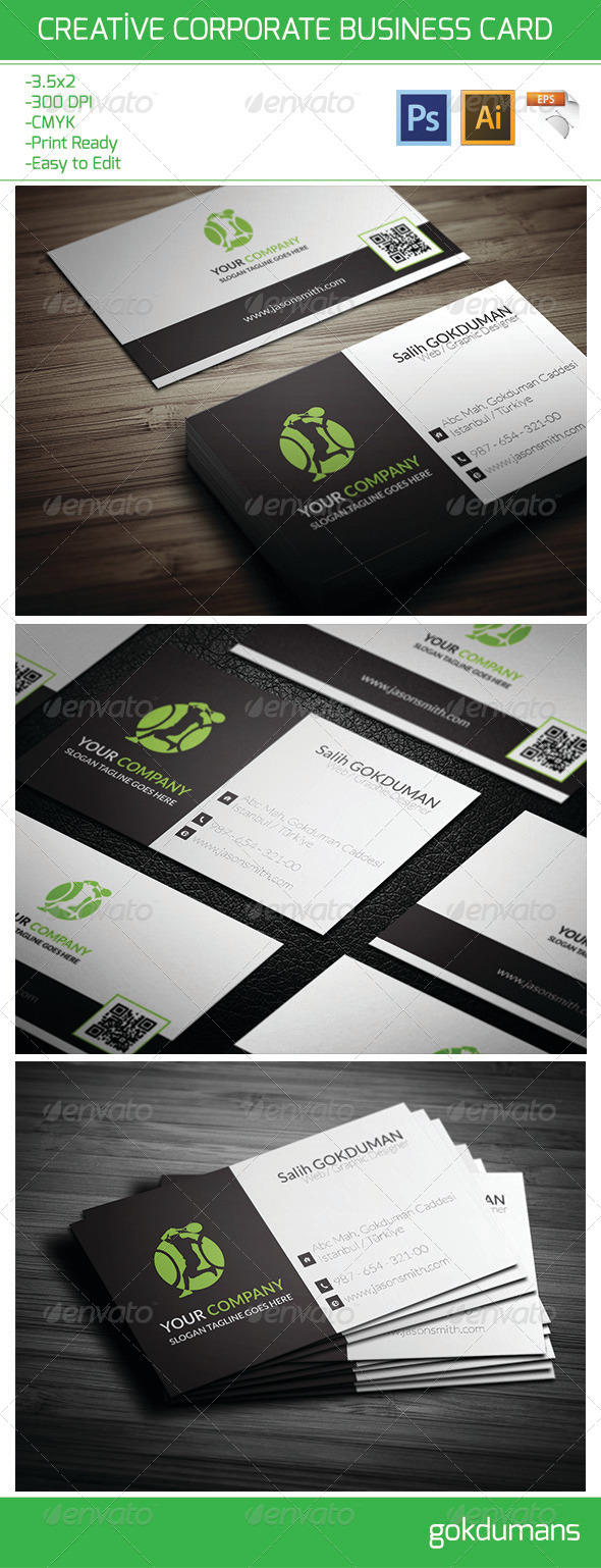 GraphicRiver Creative Corporate Business Card 21 6472096