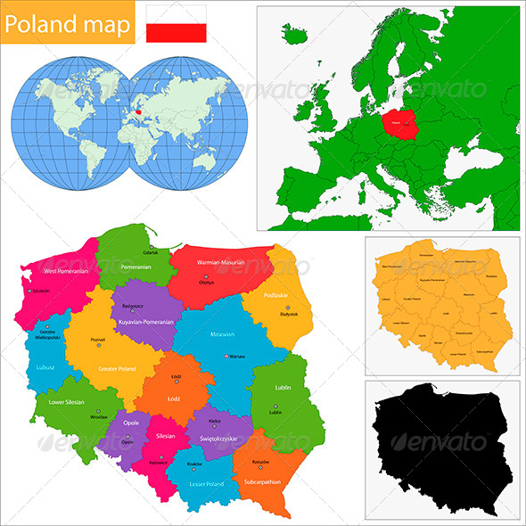 GraphicRiver Poland Map 6472304