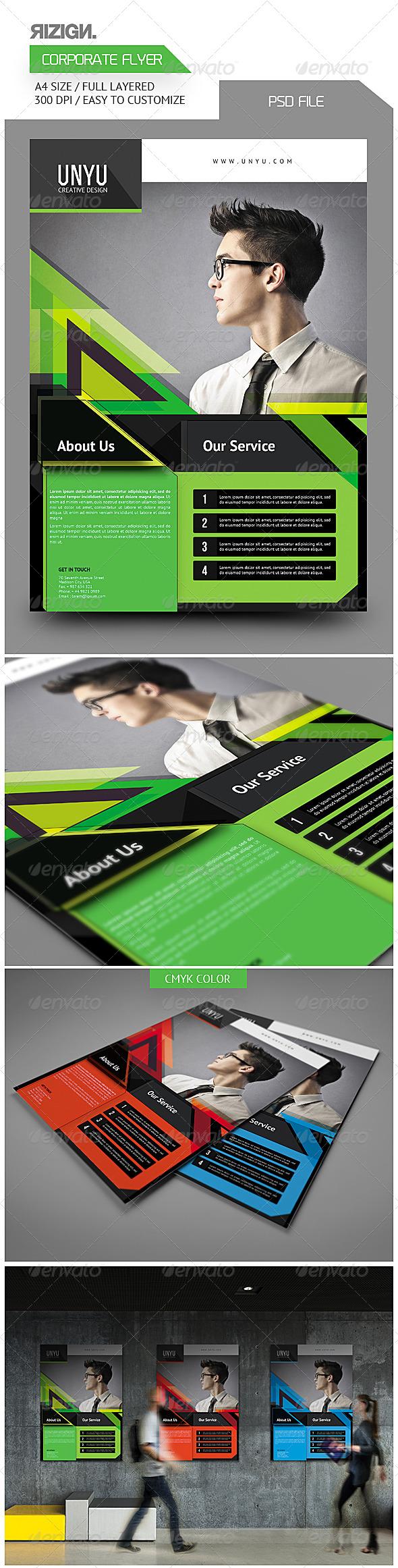 GraphicRiver Corporate Flyer 6472899