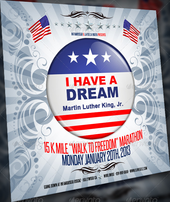 GraphicRiver MLK Walk to freedom 6473295