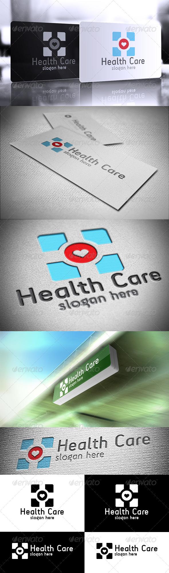 GraphicRiver Health Care Logo 6473756