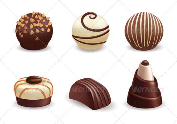 GraphicRiver Chocolate Candies 6473945