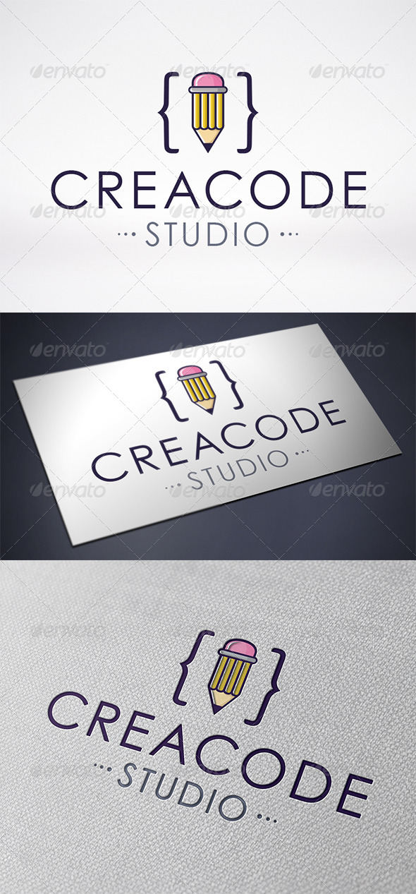 GraphicRiver Creative Code Logo Template 6473995