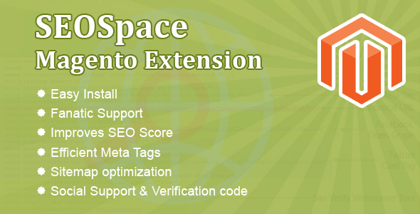 CodeCanyon SEOSpace Magento Extension Pro 6474000