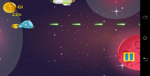 CodeCanyon Amzing Android Space Shooter Game with Revmob 6474016