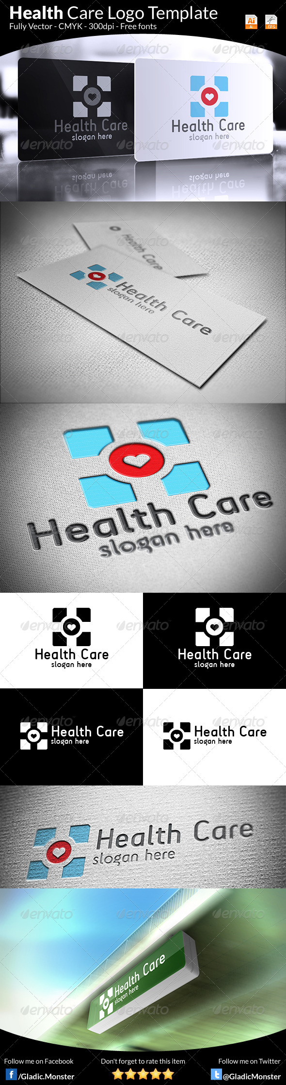 Health Care Logo - Symbols Logo Templates